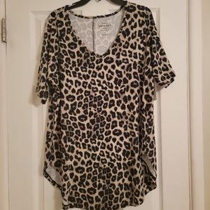 💥NEW! Torrid Leopard Tunic